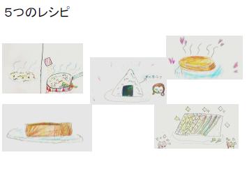 5つのレシピキャプチャ