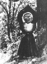 証言を元に描かれた『フラットウッズ・モンスター』(1952年)
