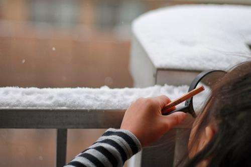 授業「雪ってなあに」より
